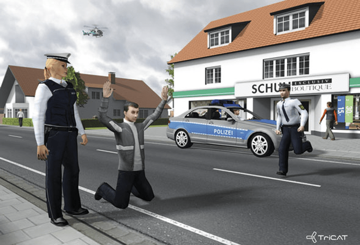 ViPOL® (Virtual Training for Police Forces)