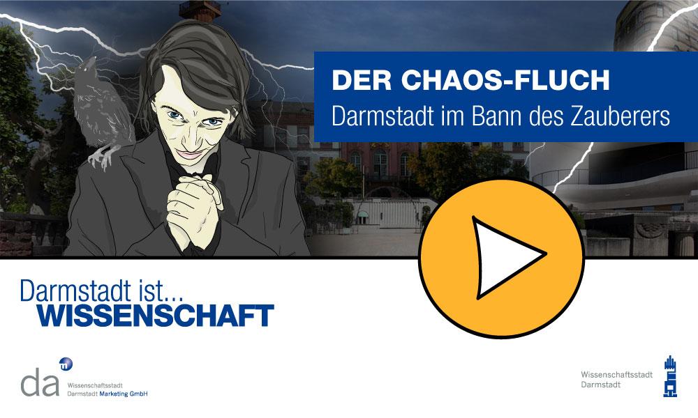 Der Chaos-Fluch: Darmstadt im Bann des Zauberers